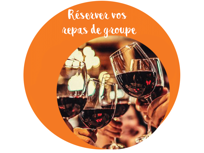 reservation pour groupe